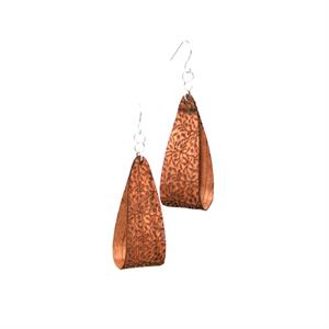 Floral Wood Earrings