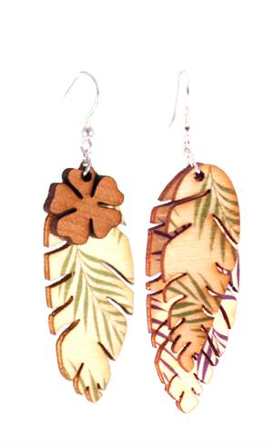 Poplar Palm Earrings