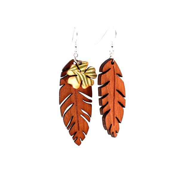 Cherry Palm Earrings